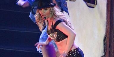 Britney Spears bei ihrer Show in Las Vegas