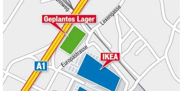 Ikea braucht mehr Platz