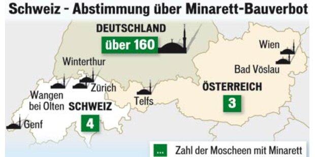 108 Moscheen in Österreich