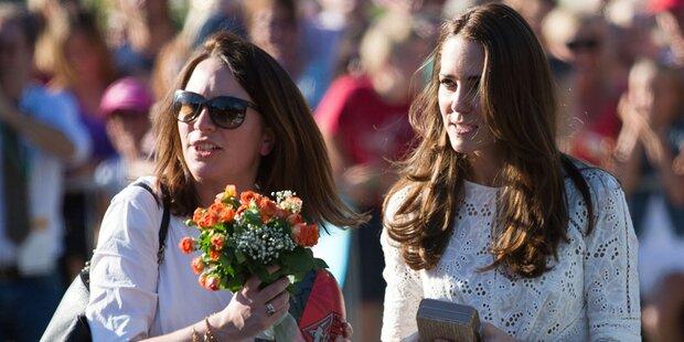 Herzogin Kate verliert ihre rechte Hand