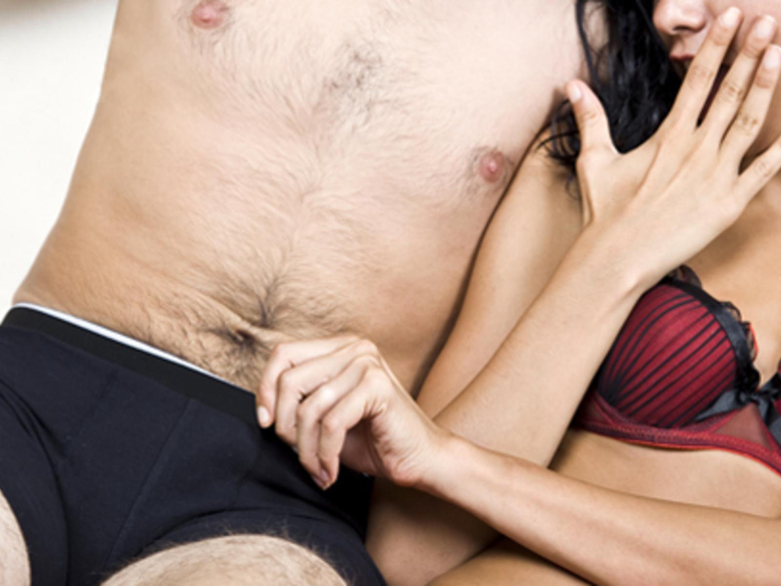 Mann nicht beschnittener Beschnittener Penis: