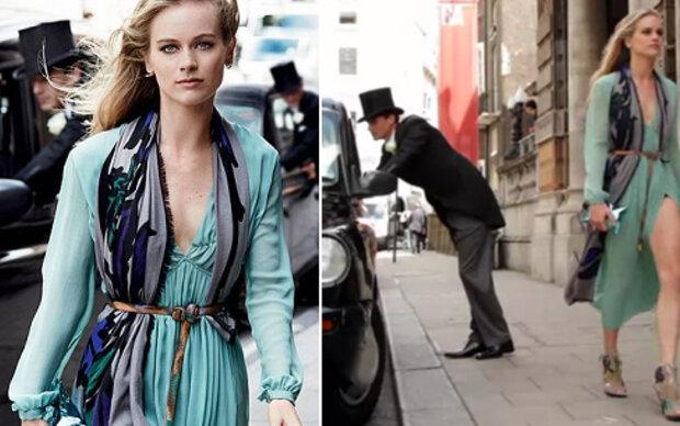 Cressie zeigt Bein in Fashion-Shooting