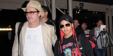 Brad Pitt & Maddox