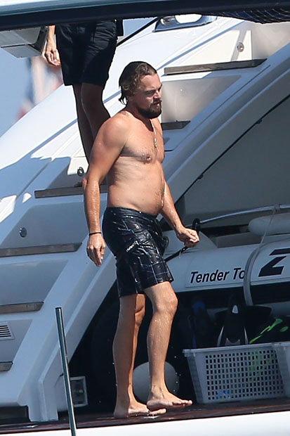 Leonardo DiCaprio & Toni Garrn relaxen in St. Tropez