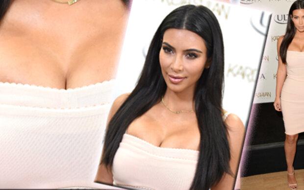 Kim Kardashian als Presswurst