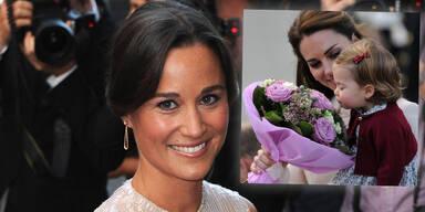 Pippa Middelton; Herzogin Kate & Prinzessin Charlotte