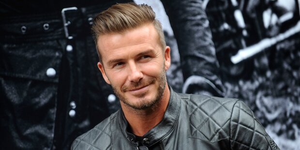 Beckham in Kurzfilm mit Harvey Keitel