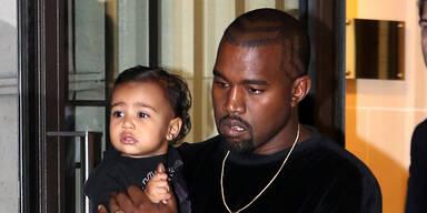 Kanye West & Tochter North