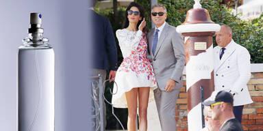 Hat sich Amal schlank-gesprüht?