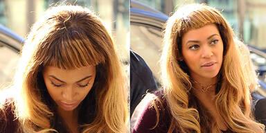Beyoncés Flop-Stirnfransen