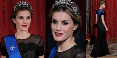 Majestätisch schön: Königin Letizia