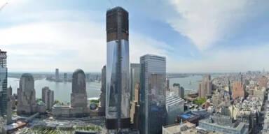 Neues WTC vor der Fertigstellung