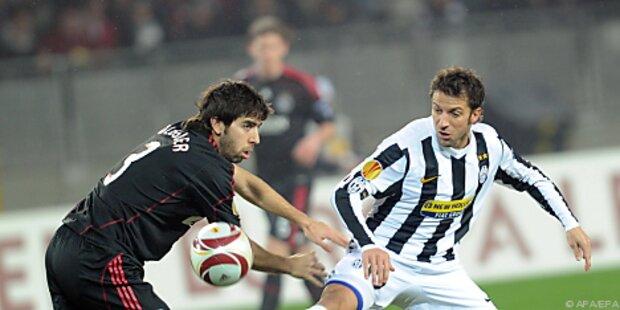 Manninger mit Juve im Europa-League-Achtelfinale