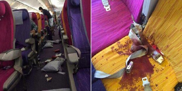 Blutbad nach Horror-Flug