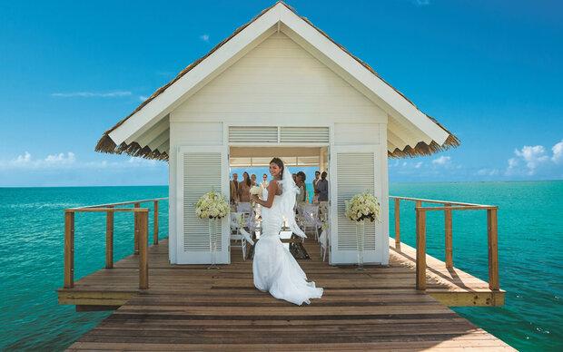Hochzeits-Traum: Heiraten über Wasser