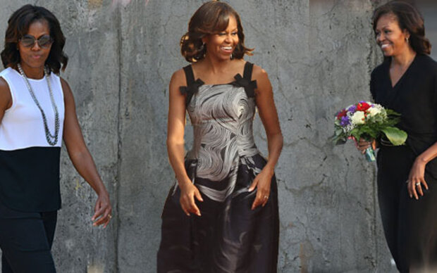 Michelle Obama: Stilikone in Berlin