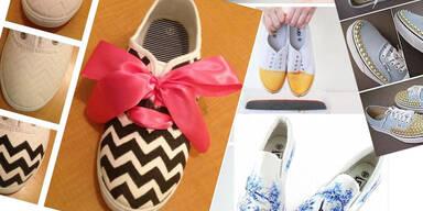 DIY: Kreative Schuh-Ideen