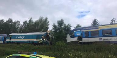 Zwei Tote nach Zugkollision in Tschechien