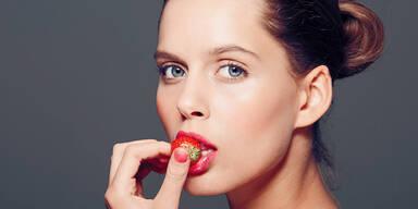 Diät essen erdbeeren