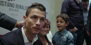 So haben sie Ronaldo noch NIE gesehen!