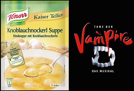 Tanz der Vampire Musical Knorr Suppe