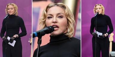Madonna mit aufgedunsenem Gesicht
