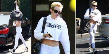 Miley Cyrus zeigt Bauch