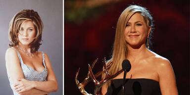 Jennifer Anistons Hairstyle im Wandel der Zeit