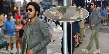 Lenny Kravitz liebt Stöckelschuhe