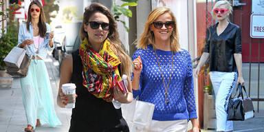 Stars zeigen die Sonnenbrillen-Trends 2013