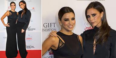 Victoria und Eva bei der Global Gift Gala