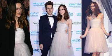 Keira Knightely recycelt Brautkleid für Gala