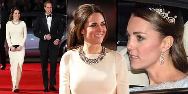 Kate glänz mit 'billigem' Modeschmuck