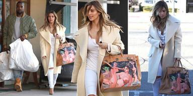 Kim zeigt seltsam nacktes Weihnachtsgeschenk