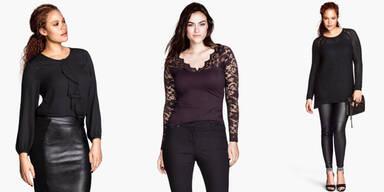 H&M: zu dünne Models für 'Plus-Size'-Werbung