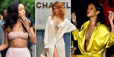 Rihanna: Warum sie gerne auf BHs verzichtet