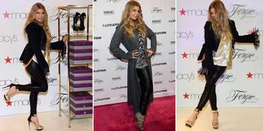 Fergie präsentiert ihre Schuhkollektion