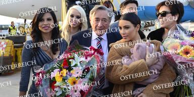 Kim Kardashian ist in Wien gelandet