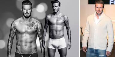 Beckham: Ist er das Model des Jahrhunderts?