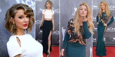 ACM Awards: Shakira vs. Taylor Swift