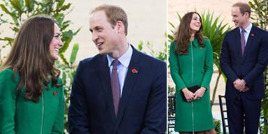 Kate & William stralen sich an