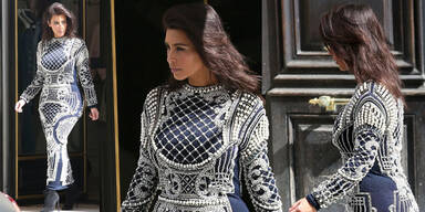 Kim Kardashian ohne Extensions
