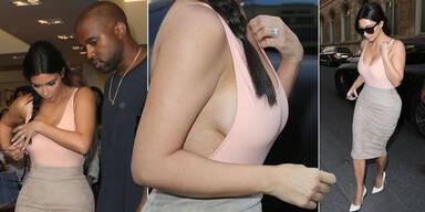 Kim Kardashians Busenblitzer