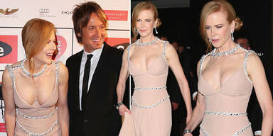 Nicole Kidman zeigt Mega-Dekolleté