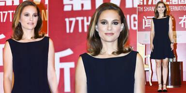 Natalie Portman: steif & zu viel Make-up