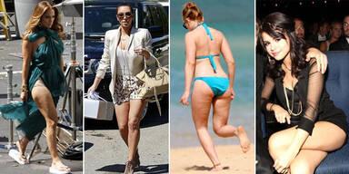Dellen-Alarm: Auch Stars haben Cellulite!