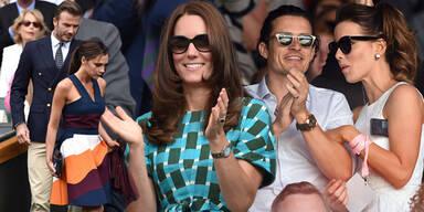 Kate, Vic , Pippa & Co beim stylishen Wimbledon-Finale