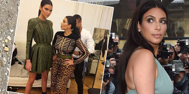 Kendall verspottet kleine Kim Kardashian