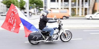 Putin-Rocker stürmten Wien