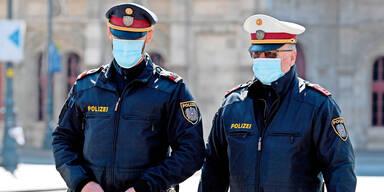 Polizei Masken